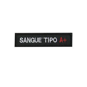 Patch Bordado Tipo Sanguíneo A+  1.341.108V