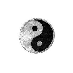 Patch Bordado Yin & Yang