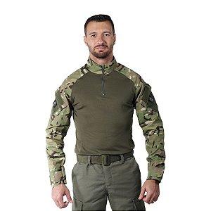 Combat Shirt Camuflado Multicam Bélica