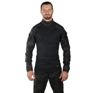 Combat Shirt Steel Bélica Multicam Black
