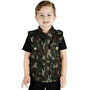 Colete Infantil Army Treme Terra