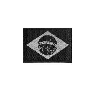 Patch Bordado Bandeira do Brasil Negativa 1.341.127