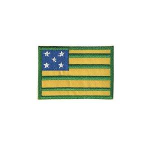 Patch Bordado Bandeira de Goiás GO 34171