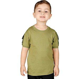 Camiseta T Shirt Ranger Infantil Verde Claro Bélica-Promoção