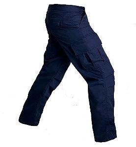Calça Masculina Combat Azul Bélica