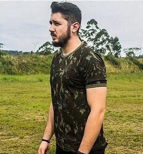 Camiseta Manga Curta Camuflado EB Bravo