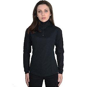Combat Shirt Feminina Bélica Preta