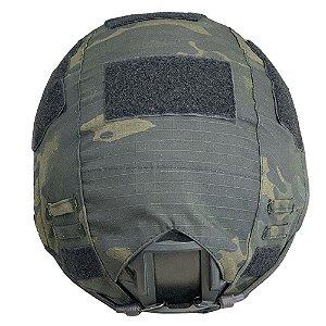 Capa de Capacete Tático Multicam Black