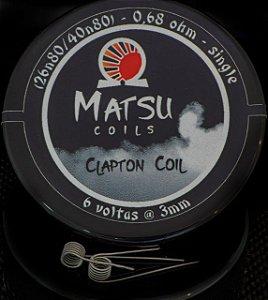 Matsu Coils - Clapton 26n80/40n80