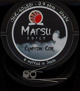 Matsu Coils - Clapton 26A/40n80