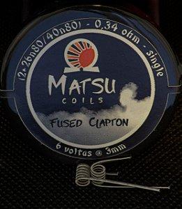 Matsu Coils - Fused Clapton 2x26n80/40n80