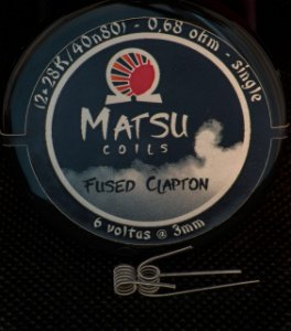 Matsu Coils - Fused Clapton 2x28A1/40n80