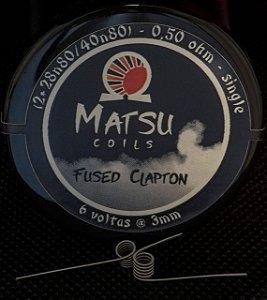Matsu Coils - Fused Clapton 2x28n80/40n80