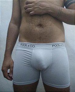 Cueca Boxer Branca Theo