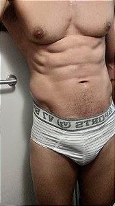 Cueca Slip Branco- Loeza