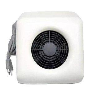 Coletor Sugador Aspirador De Pó Unha Gel Acrigel 110V Branco