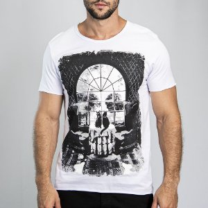 "Camiseta ""Skull Window"" - SKULLER"