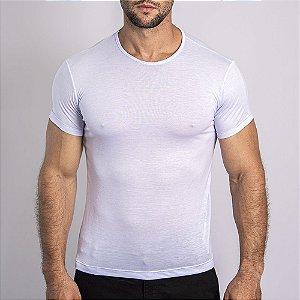 Camiseta Slim Fit Básica MODAL Branca - SOHO