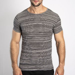 Camiseta Granite Regular Mescla Claro - SOHO