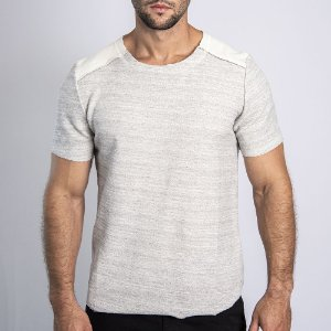 Camiseta Moletinho Inverted OFF WHITE - SOHO