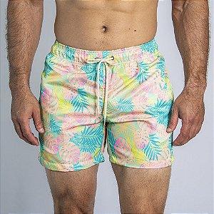 Shorts D'Água Fluorescent Forest - SOHO
