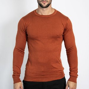 Tricot Básico Masculino Regular Fit - AISHTY