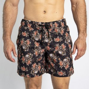 Shorts D'Água Dark Skull - SOHO