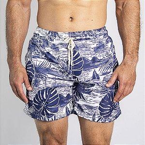 Shorts D'Água White Forest - SOHO