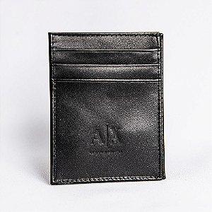 Porta Cartão AX Preto