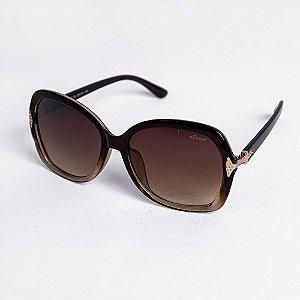 Óculos de Sol Feminino Redondo Lente Degradê - Sowt