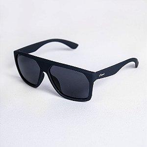 Óculos de Sol Masculino Geométrico Lente Fumê - Sowt