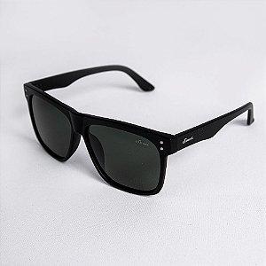 Óculos de Sol Masculino Classic Lente Verde Fumê - Sowt