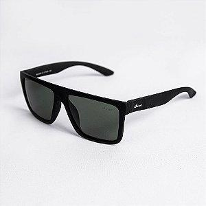 Óculos de Sol Masculino Straight Lente Verde Fumê - Sowt