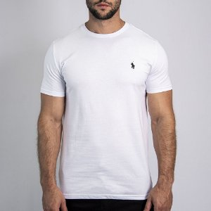 Camiseta Custom Fit Branca - Ralph Lauren