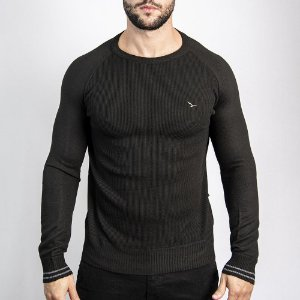 Suéter Williston Slim Fit - Preto
