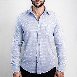 Camisa Listras Custom Fit - Abercrombie