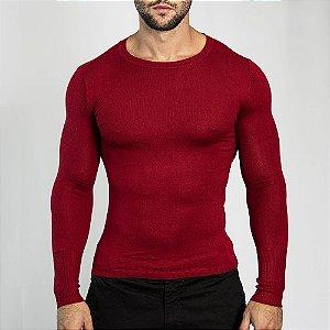 Suéter Slim Fit Man - Vermelho