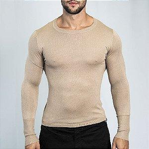 Suéter Slim Fit Man - Marrom