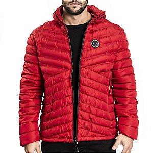 Jaqueta Puffer Colors Armani - Vermelha