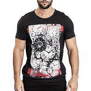 "Camiseta ""Time Out"" - SKULLER"