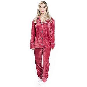 Pijama Camisaria Comfy Bless