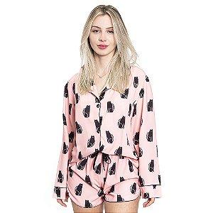 Pijama Feminino Cats