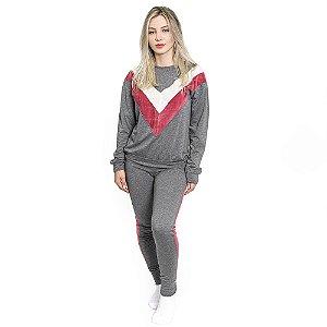 Pijama Feminino Longo Stripes