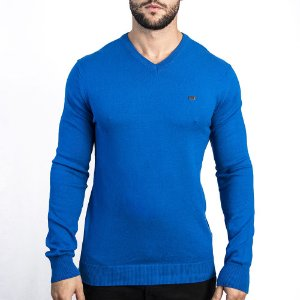 Suéter Armani Royal - Azul