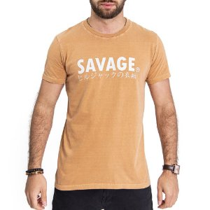 Camiseta Savage Caramelo- HillJack