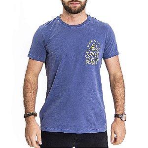 Camiseta Decaf Marinho - HillJack