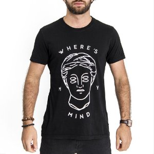 Camiseta Mind Preta - HillJack