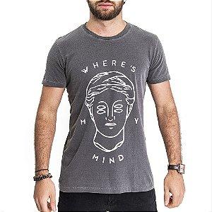 Camiseta Mind Chumbo - HillJack