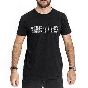 Camiseta Anxiety Preta - HillJack