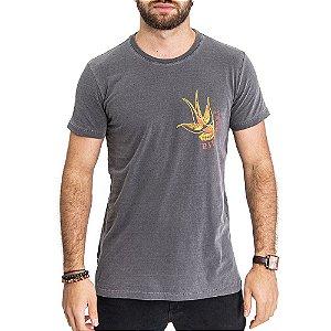 Camiseta Andorinha Chumbo - HillJack